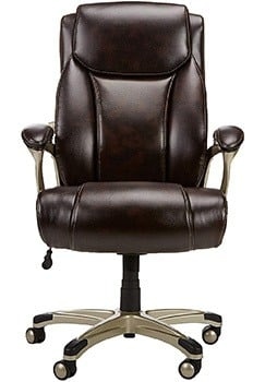 Front Image View of Amazon Basics Big and Tall Executive Chair