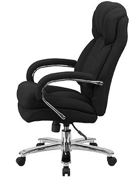 Right Side View of Flash Furniture's Hercules 24/7 High Backed Office Chair