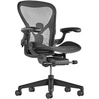 Best Office Chair for Big and Tall Herman Miller Aeron Small - Chair Institute