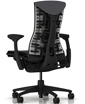 Back Side View of Herman Miller Embody Chair