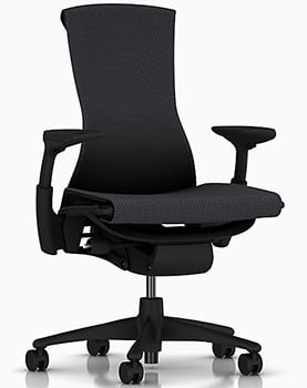 Balance Fabric Upholstery Image of Herman Miller Embody Chair