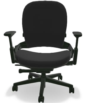 Front Upper View of Steelcase Leap Plus Task Chair