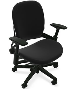 Left Upper View of Steelcase Leap Plus Task Chair