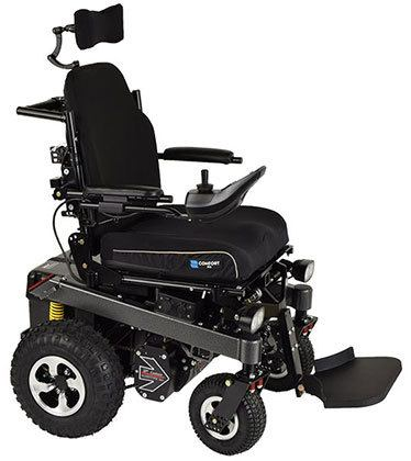 Left Image View of Bounder Off Road All Terrain Wheelchair