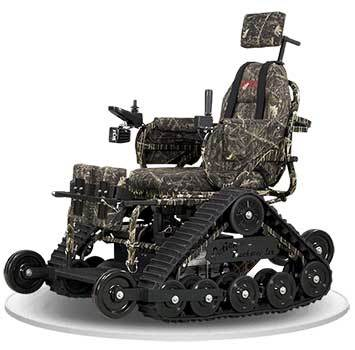 Right Image View of Trackstander Wheelchair