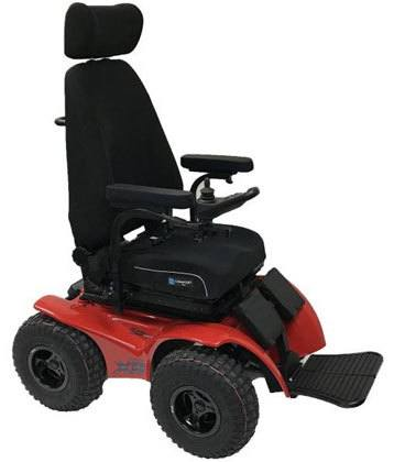 Right Image View of X8 Extreme 4x4 Power All-Terrain Wheelchair