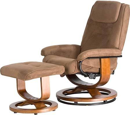 Right Side View of Relaxzen Deluxe Massage Recliner