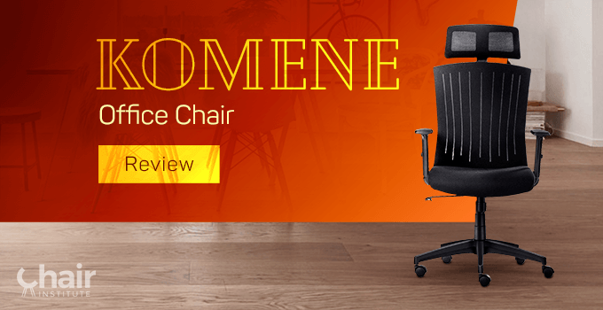 Komene Office Chair in a contemporary home