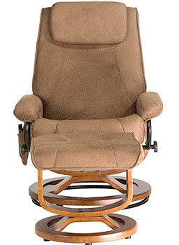 Front View of Relaxzen Deluxe Massage Recliner