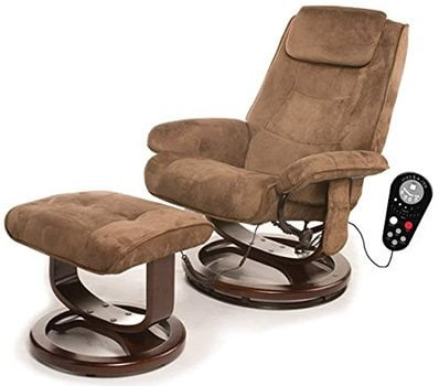 Right Image View of Relaxzen Deluxe Massage Recliner with Remote