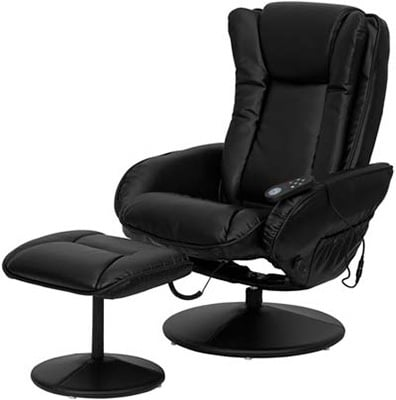 Right Image View of T&D (Flash Furniture) Massage Recliner