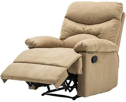 Right Image View of Windaze Massage Recliner with Footrest