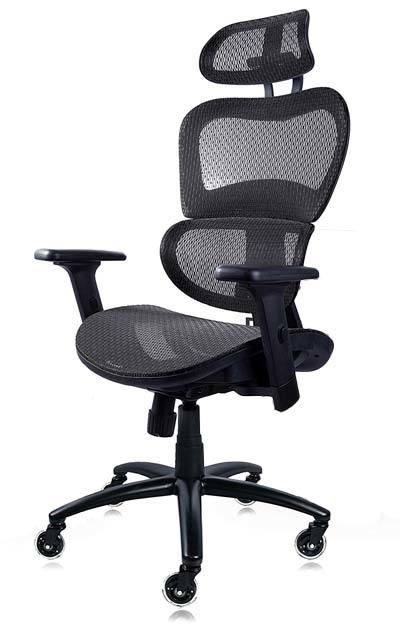 NOUHAUS Ergo3D Office Chair in Black