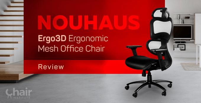 NOUHAUS Ergo3D Ergonomic Mesh Office Chair in a contemporary home