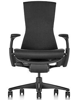 Front Image VIew of Herman Miller Embody Office Chair