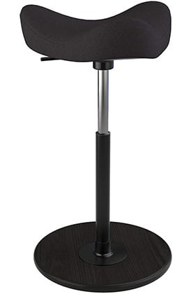 Front Image View of Varier Move Tilting Saddle Stool