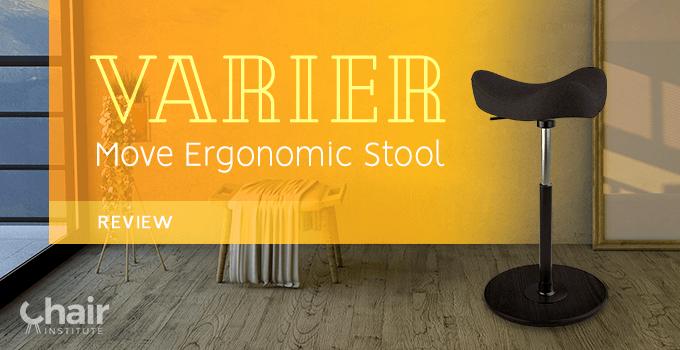 Varier Move Ergonomic Stool in a modern living room