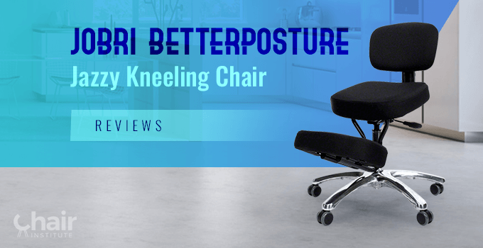 Jobri BetterPosture Jazzy Kneeling Chair in a modern home