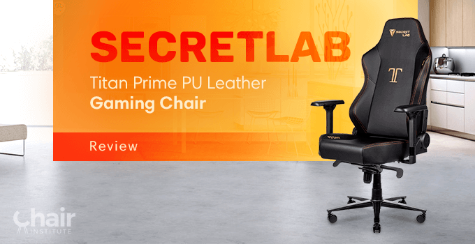 Secretlab Titan Prime PU Leather Gaming Chair in a contemporary home