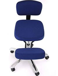 A small image of Jobri BetterPosture Jazzy Kneeling Chair in Blue color Variant