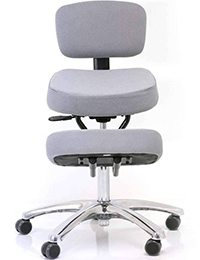A small image of Jobri BetterPosture Jazzy Kneeling Chair in Grey color Variant