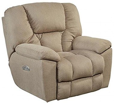 Doe Fabric Color, Catnapper Owens with Power Headrest and Lumbar Support, in Left-Front Position