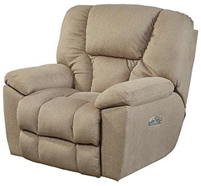 Doe Fabric Color, Catnapper Owens with Power Headrest and Lumbar Support, in Right-Front Position