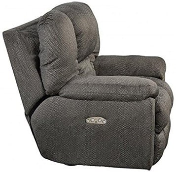 Seal Fabric  Color, Catnapper Owens with Power Headrest and Lumbar Support, in Left-Front Position