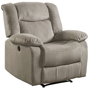 Taupe Color, Lifestyle Power Recliner, in Left-Front Position