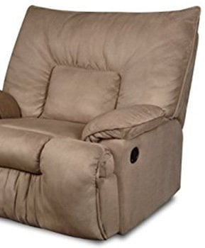 Comfortable Foam Padding, Simmons Cuddler Recliner, Mocha