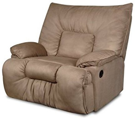 Mocha Color, Simmons Cuddler Recliner, in Right-Front Position