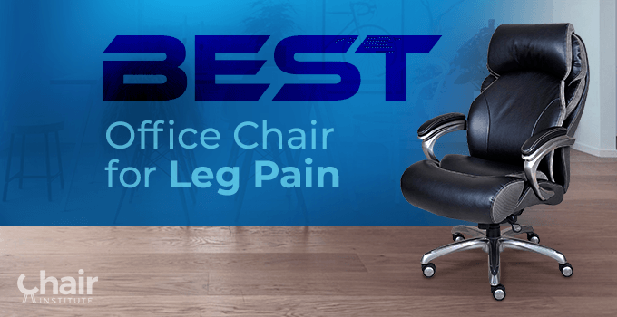 Serta Big and Tall Smart Layers Tranquility Executive Office Chair for Leg Pain