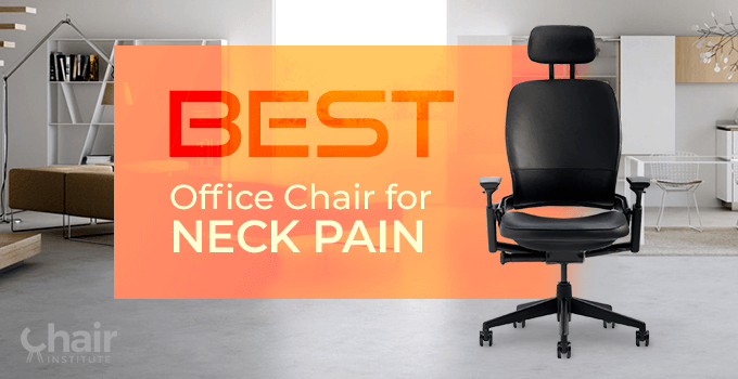 Steelcase Leap Office Chair for Neck Pain in a contemporary home