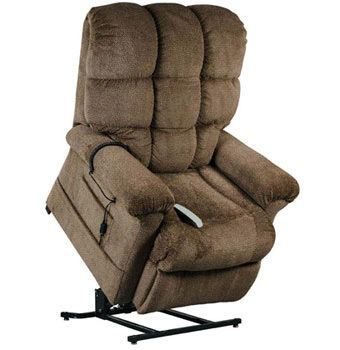 Nutmeg fabric variant of the Windermere Burton Power Lift Chair