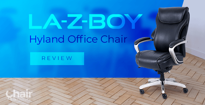 La-Z-Boy Hyland Office Chair in a contemporary conference room