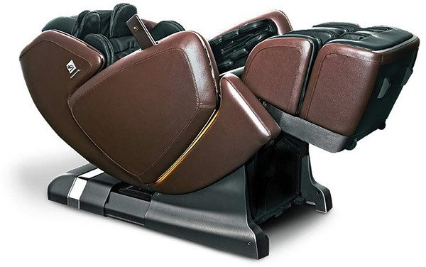 OHCO M.8 Massage Chair in a reclined position