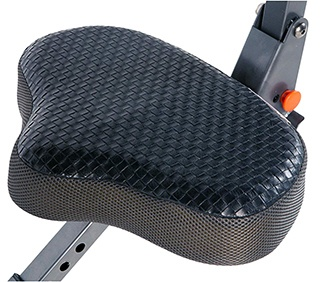 Exerwork 2000i Folding Bike's seat which features AirSoft Technology