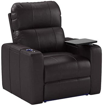 Seatcraft Julius Big & Tall 400 lbs Capacity, Leather, Powered Headrest, SoundShaker, USB Charging