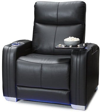 Black Variants, Seatcraft Solstice with Power Lumbar Support, Right Position