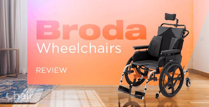 Broda Encore Wheelchair in a contemporary room