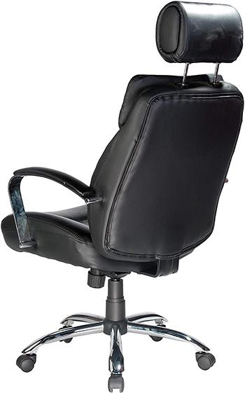 Back part of the Comfort Products Commodore II Oversize Leather Chair