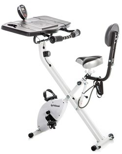 The FitDesk Bike Desk 3.0 without pedal straps