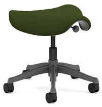 A smaller image of Humanscale Freedom Stool in Loden color