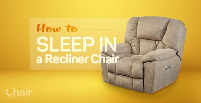 A recliner chair with fabric upholstery
