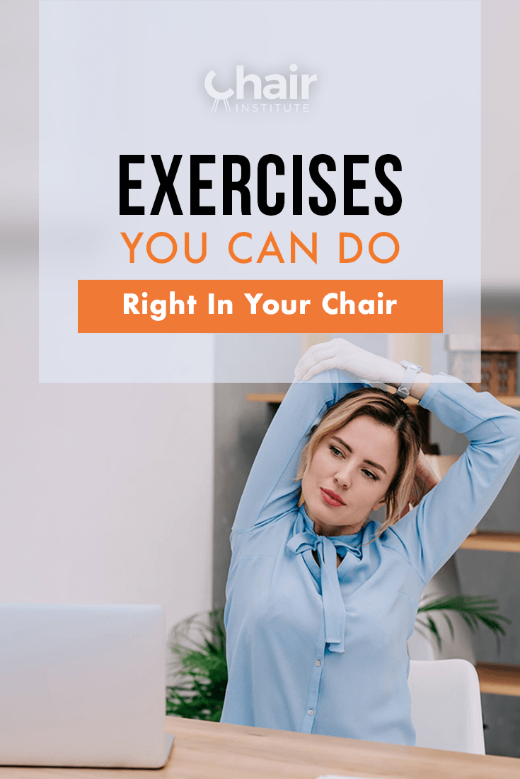 Exercises You Can Do Right In Your Chair