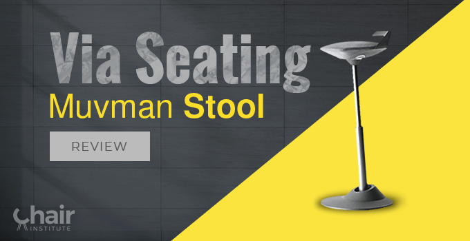 A feature image of Via Seating Muvman Stool