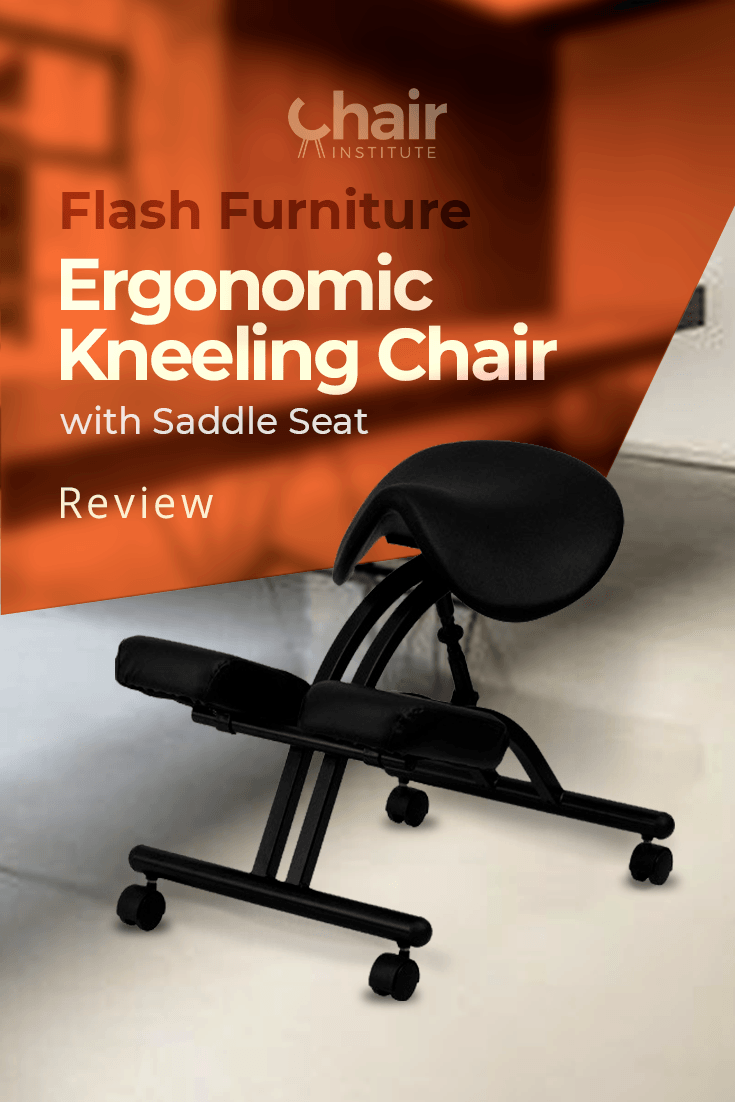 Flash Furniture Ergonomic Kneeling Chair with Saddle Seat Review