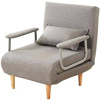 Convertible Chair in Folded Position