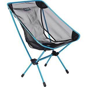 Black Mesh Color, Helinox One Camp Chair, Leftfront