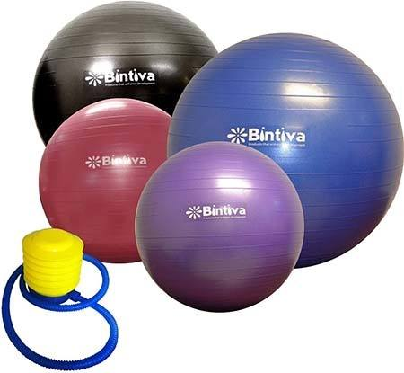 Bintiva Anti-Burst Exercise Ball